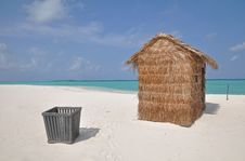 Free A Hut On A Tropical Island Stock Photo - 20821730