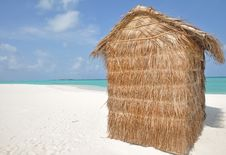 Free A Hut On A Tropical Island Royalty Free Stock Images - 20821749