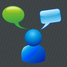 Free Chat Stock Images - 20821964