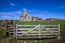 Iona Abbey Stock Photography