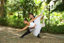 Free Couple Performing Ballet Royalty Free Stock Image - 20822546