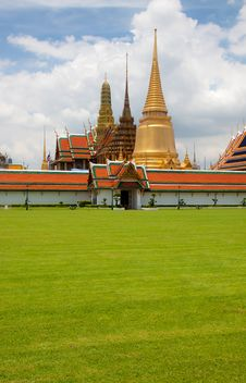 Free The Grand Palace In Bangkok, Thailand Stock Photography - 20822552