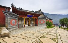 Free Chinese Traditional Temple Building Stock Photography - 20822852