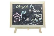Free Back To School Blackboard Royalty Free Stock Photos - 20822888