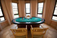 Free Gambling Table Royalty Free Stock Photo - 20823365