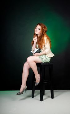 Free Beautiful Red Haired Woman Royalty Free Stock Photography - 20823887