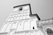 Free Black And White Architecture Of An Old Monastery Royalty Free Stock Photography - 20824517