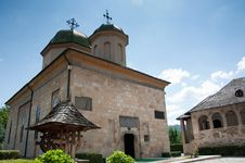 Free Romanian Orthodox Monastery Stock Photography - 20824542