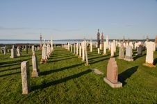 Free Graves In A Catholic Cemetery Stock Image - 20825171