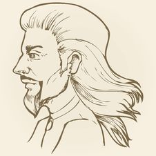Free Man S Head Royalty Free Stock Photo - 20825685