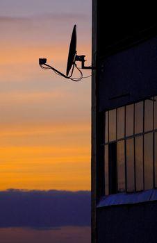 Free Satellite Antenna Royalty Free Stock Photo - 20825875