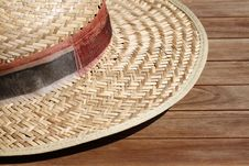 Free Straw Hat Stock Photography - 20826552