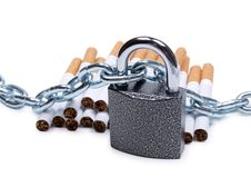 Free Chain On Tobacco Royalty Free Stock Image - 20827336