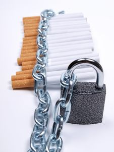 Free Lock On Tobacco Royalty Free Stock Photography - 20827367