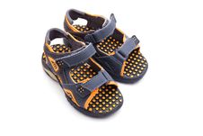 Child S Shoes Stock Image