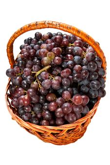 Free Grapes In A Basket Royalty Free Stock Images - 20828489