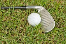 Free Golf Club Royalty Free Stock Image - 20828776