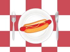 Free Hot Dog Stock Photography - 20829442