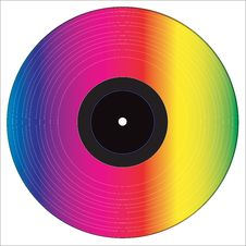 Free Vinyl Disc Royalty Free Stock Images - 20829539