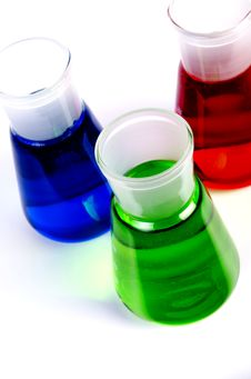 Free Chemicals In Laboratory Glassware Royalty Free Stock Image - 20829736