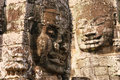 Free Giant Face On Bayon Temple In Angkor Royalty Free Stock Photos - 20833558