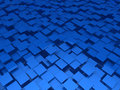 Free 3d Blue Area Background Cube Stock Images - 20835194