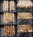 Free Shish Kebab Preparation Stock Images - 20837454