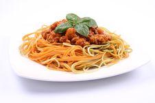 Free Spaghetti Bolognese Stock Image - 20830211