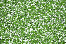 Free Cubes In Green And White Stock Photography - 20830502