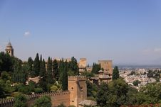 Free View Of Granada, Spain Royalty Free Stock Image - 20830886