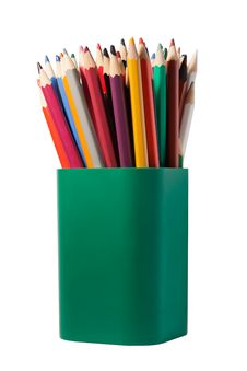 Free Pencils In A Box Stock Image - 20831841