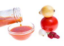 Ketchup, Tomato Sauce Royalty Free Stock Image