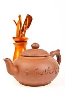 Free Old Chinese Teapot Stock Photos - 20832263