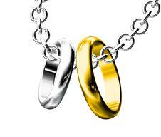 Free Two Wedding Rings Stock Photo - 20832630