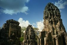 Free Bayon Temple In Angkor Royalty Free Stock Photo - 20833535