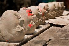 Free Heads In A Row Stock Photos - 20833713