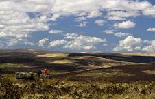 Free Walkers Enjoying A View Across Dartmoor Stock Photos - 20834083