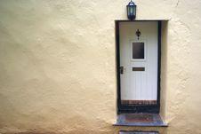 White Door Royalty Free Stock Photos