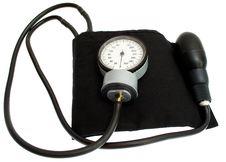 Free Tonometer On A White Stock Images - 20834864