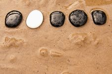 Free Small Stepping Stones Royalty Free Stock Photo - 20834885