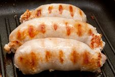 Free Delicious Grilled Sausages Royalty Free Stock Images - 20835269