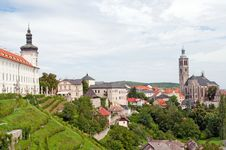 Free View Of Kutna Hora Royalty Free Stock Photo - 20836025