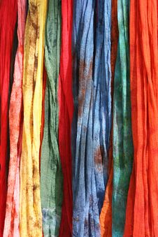 Free Colorful Scarves Stock Image - 20836541