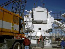 Free Crane Sets Observatory Base Stock Photos - 20836563