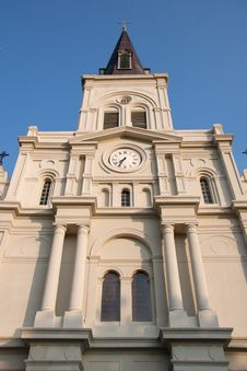 Saint Louis Cathedral Stock Images