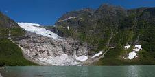 Norwegian Glacier Stock Images