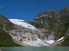 Free Norwegian Glacier Royalty Free Stock Photo - 20836975