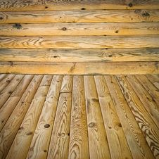 Free Pine Floor And Wall Royalty Free Stock Photos - 20837018