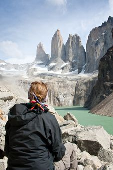 Free Contemplating Torres Del Paine Stock Photo - 20837960