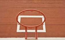 Basketball Board Royalty Free Stock Photo
